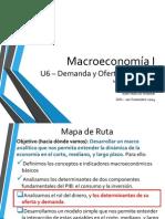 Macroeconomía I - 2014 1S - Unidad 6