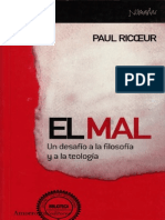 Ricoeur, Paul. El Mal