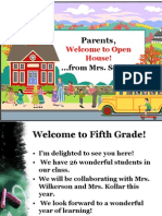 curriculum night ppt 2013