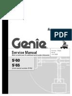 Huolto Opas Genie S 65