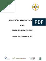 School Examination Data Booklet 2009