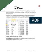 Filtros en Excel - JEE Espinar TAI
