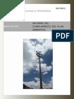 Informe Cumplimiento Del Plan Ambiental