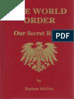 Eustace Mullins' The World Order