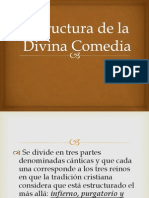 Estructura de La Divina Comedia
