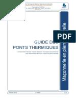 Ponts Thermiques Et Pierre Naturelle v1 2