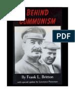 Behind Communism - by