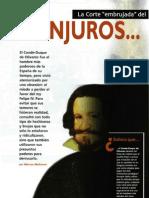 Conjuros y Conjuras - La Corte Embrujada Del Conde-duque de Olivares