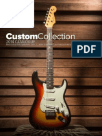 2014 Fender CustomShop Illustrated Pricelist