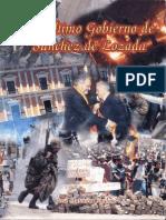 El Último Gobierno de Sánchez de Lozada