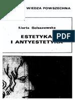 Maria Gołaszewska - Estetyka i Antyestetyka