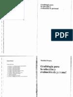 Grafología Para La Selección y Evaluación de Personal