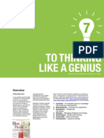Steps to Thinking Like a Genius