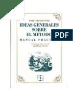 Ideas Generales Sobre Mi Metodo - Maria Montessori