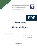 Conductismo resumen