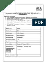 Mathematics' Assignment