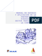 Estudio Realizado Con MAZ Sobre Prevención de Riesgos Laborales Empresas Textiles