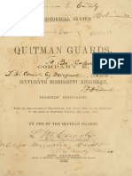 A Historical Sketch of the Quitman Guards