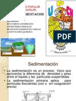 Sedimentacion Primaria Equipo 6