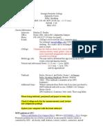 Syllabus Fall 2014 Section 602