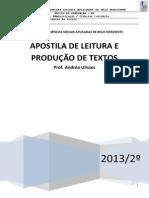 Apostila Leitura e Produção de Textos - Prof Andrea (1)