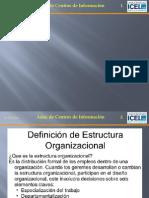 1.2 Estructura Organizacional