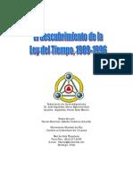El descubrimiento de la Ley del Tiempo (1989-1996)