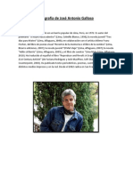 Biografía de José Antonio Galloso