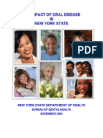 Impact of Oral Disease NYC