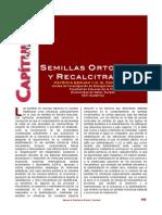 Semillas Ortodoxas y Recalcitrantes (1)