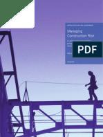 Managing Construction Risk