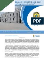 Plan de Desarrollo Municipal 2012 2015 1 POPAYAN