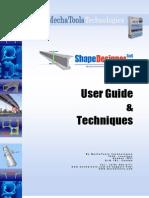 User Guide Shape Designers a As
