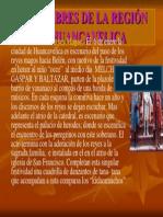 Costumbres de La Región de Huancavelica Power Point
