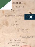 ROUSSEAU, Jean Jacques - Principios Del Derecho Politico