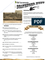 Old Sacramento Scavenger Hunt | A Free Historic Walking Tour in Sacramento, CA