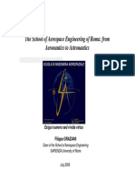 The School of Aerospace Engineering of Roma