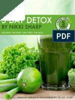 Nikki Sharp 5 Day Detox 3rd Edition