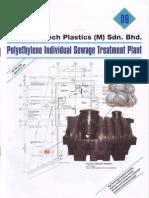 PE Individual Sewage Treatment Plant