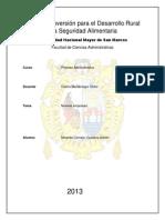 Capitulo 8 - Organizaciones e Integracion de Personal