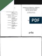 19480253 Chartier Roger Espacio Publico Critica y Desacralizacion en El Siglo XVIII Cap2 y 4