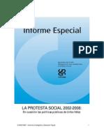 CINEP - La Protesta Social 2002-2008. en Cuestión Las Políticas Públicas de Uribe Vélez