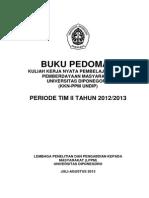 Buku Pedoman KKN Tim II 2013