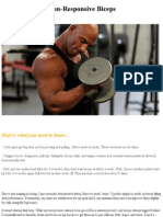 Christian Thibaudeau - 5 Workouts for Non-Responsive Biceps