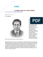 Padma Bridge Ordeal and Our Civil Society