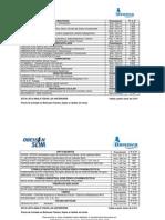 Lista de Precio PUBLICO Junio 2014