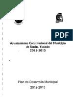 UMÁN PlandeDesarrollo 2012-2015