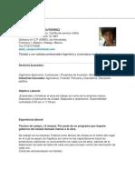 Curriculum Jose Luis