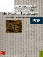Capelle Dumont Filosofia y Teologia en Heidegger, M