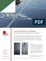 A - First Solar FS 275